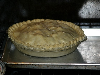 Green Tomato Pie Ready to Bake