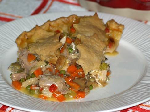 Turkey Pot Pie a Leftover Recipe for Turkey
