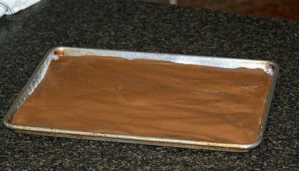 Unbaked Chocolate Sponge Cake