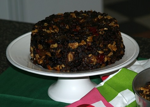 Unbaked Fruit Cake Recipe