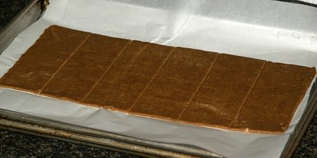 Unbaked Graham Crackers
