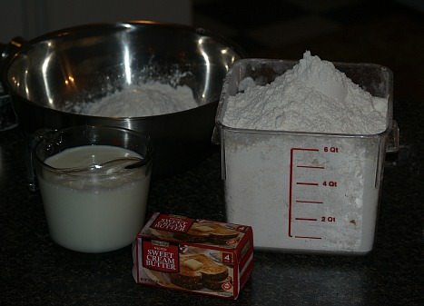 Ingredients for Unleavened Bread Recipe
