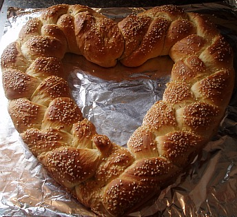 How to Make a Heart Shaped Bread