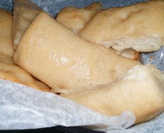 oven baked Italian rolls