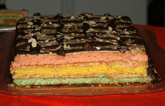 The Three Layers of the Venetian Cake
