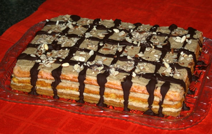 Layered Italian Venetian Cake for a Crowd