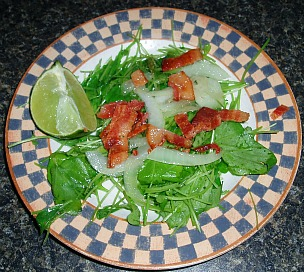 watercress green salad