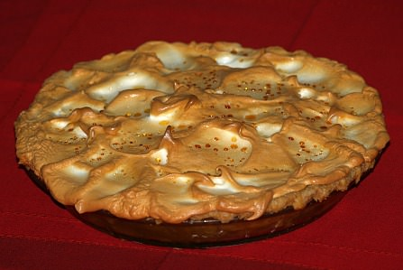 White Mountain Meringue Pumpkin Pie