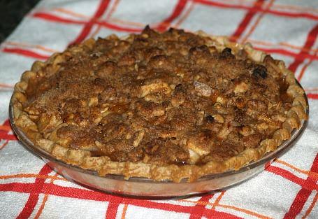 Whole Dutch Apple Pie