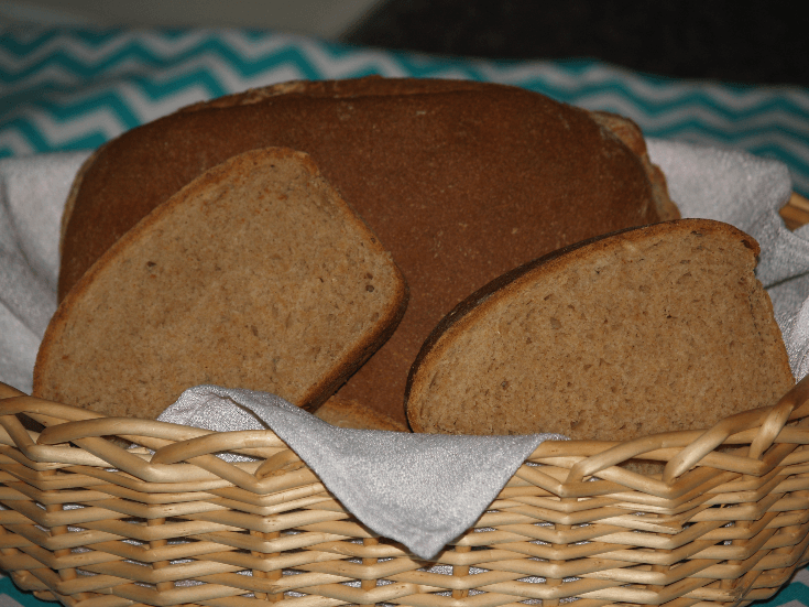 Whole Wheat Yeast Bread Recipe