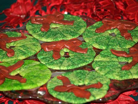 Soft Sugar Cookie Recipe Shaped as Wreaths