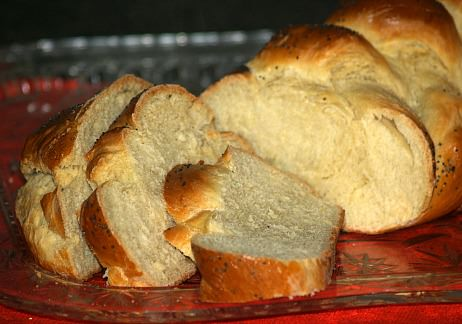 Six Braid Challah Bread