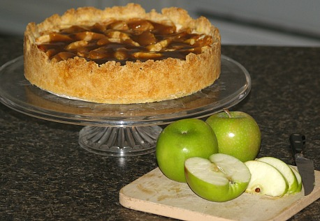 how to make apple cinnamon cheesecake recipe