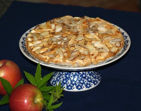 how to make apple cinnamon sugar free cheesecake recipe