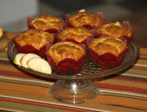 Apple Muffin Recipe with Cheese and Bacon