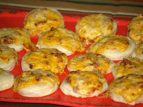 Bacon Biscuit Puffs