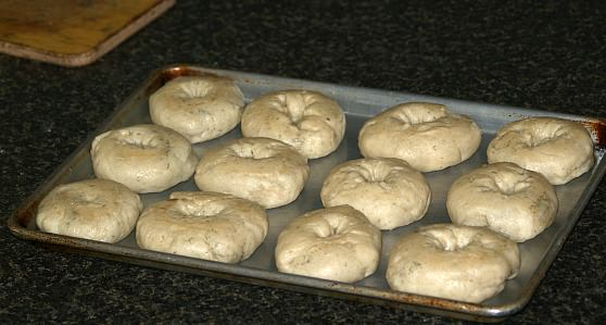 Bagels After Broiling