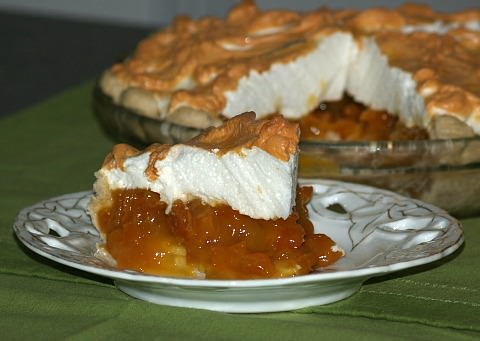 Banana Apricot Pie Recipe