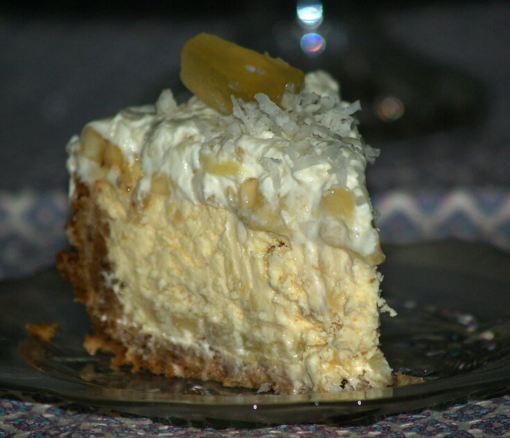 Tropical Banana Cheesecake Recipe