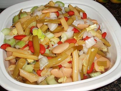 How to Make a Four Bean Salad Recipe