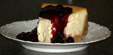 how to make blueberry cheesecake recipe