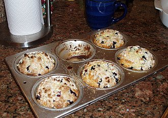 How to Make Blueberry Muffins