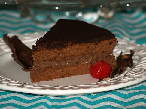 Chocolate Boston Cream Pie Recipe