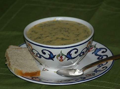 How to Make Broccoli Soup Recipe with Cheese