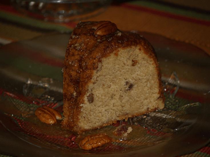 Brown Sugar Rum Pound Cake Recipe