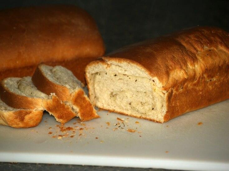 Butterflake Herb Bread Recipe