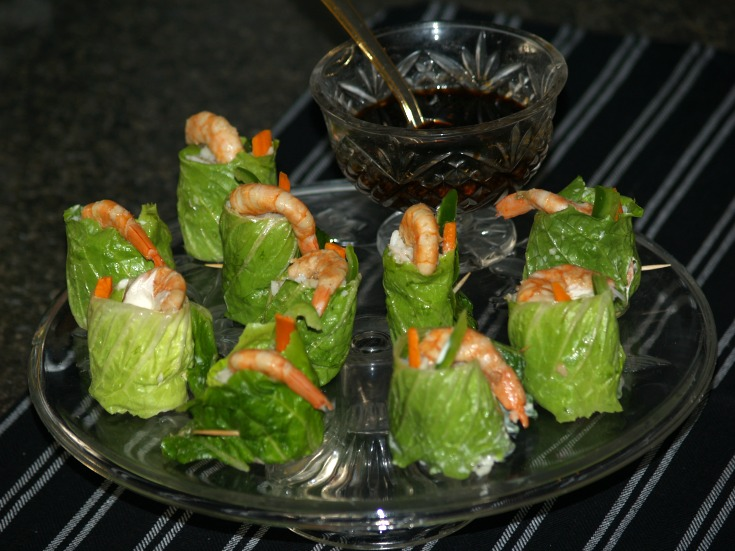 California Shrimp Roll Appetizers for a Crowd