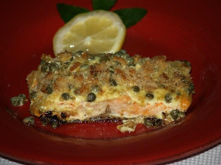Capered Trout Recipe