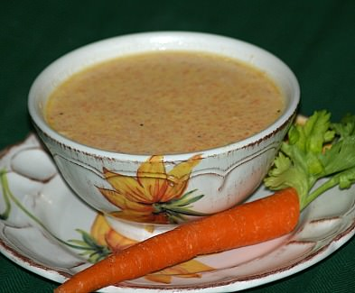 how to make a carrot soup recipe