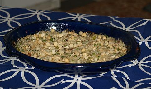 Cashew Chicken Rice Casserole