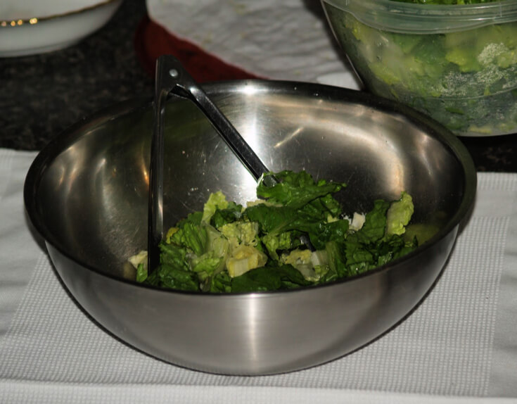 Toss with Romaine Lettuce