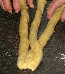 Challah Bread Step 3