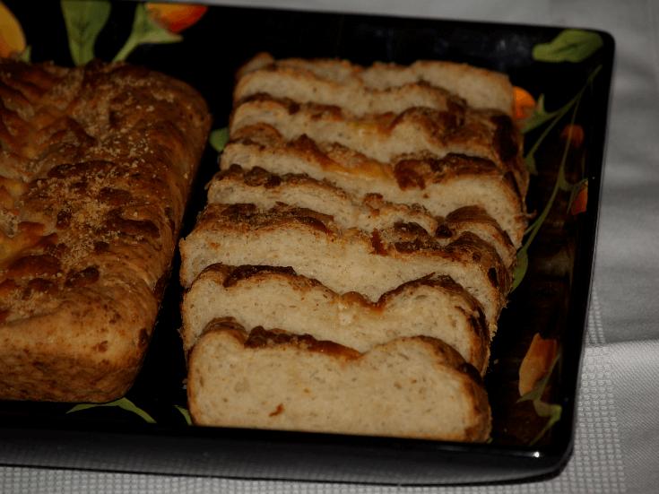 Sliced Cheese Bread Recipe