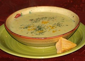 how to make cheese soup