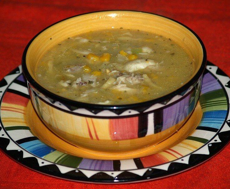 Corn Chicken Soup Recipe
