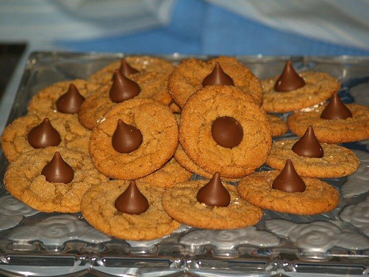 Almond Chocolate Kiss Cookie Recipe
