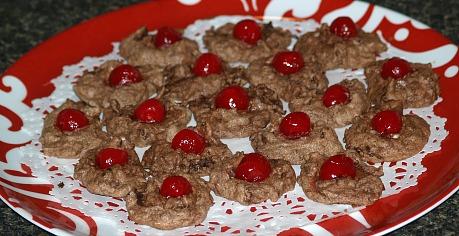 Chocolate Macaroons or Dolci Della Festa