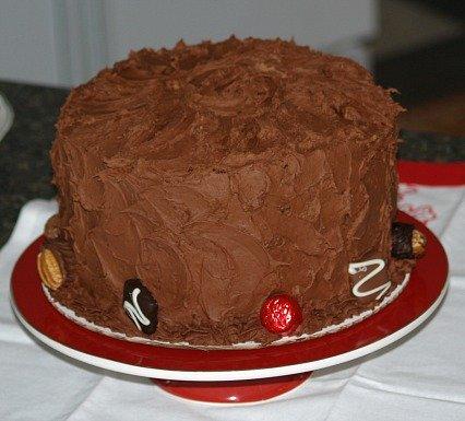 how to make a holiday cake recipe
