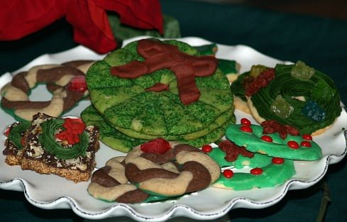 Christmas Wreath Cookie Recipes