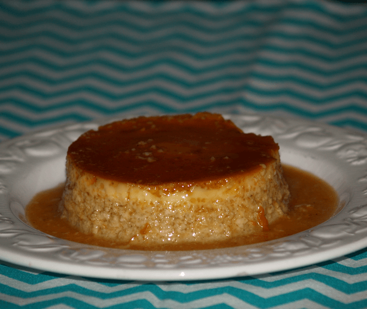 Classic Flan of Spain Recipe Single Serving
