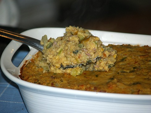 how to make thanksgiving dressing recipes like this cornbread sausage stuffing recipe