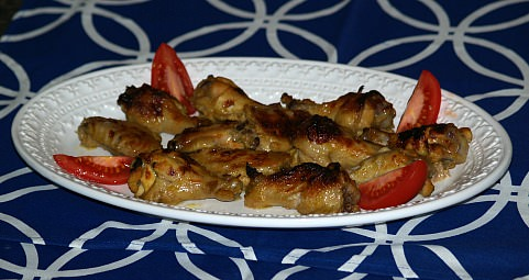 how to make Indian curried chicken wings
