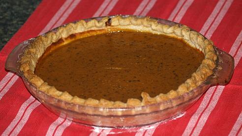 Diabetic Pumpkin Pie