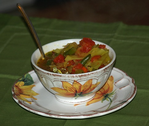 diet vegetable soup for new years resolutions