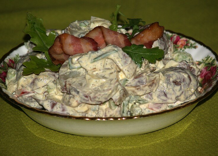 Dill Bacon Salad Dressing Recipe