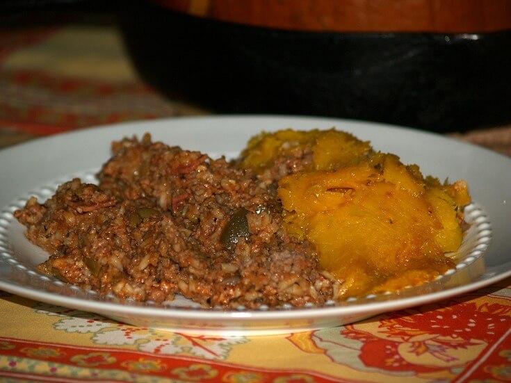Dinner in a Pumpkin Recipe